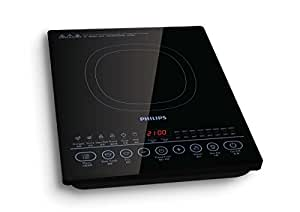 Philips Viva Collection Induction Cooker with Sensor Touch, 2100W, Black, HD4937/06