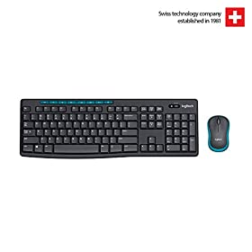 Logitech MK275 Wireless Keyboard and Mouse Combo