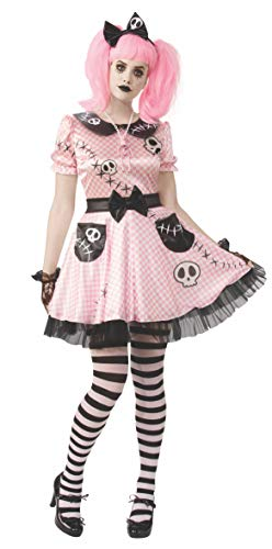 Rubie's Opus Collection Ragdolls Women's Pink Skelly Costume, As As Shown, Medium