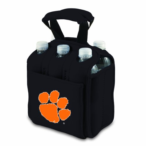NCAA Clemson Tigers Six Pack Cooler Tote