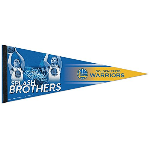 WinCraft NBA 03818115 Golden State Warriors Premium Pennant, 12'' X 30'' by WinCraft