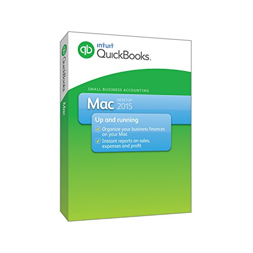 Intuit QuickBooks Mac 2015 Version product image