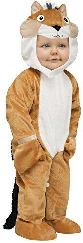 - SALES4YA Baby Chipper Chipmunk Baby Costume 6-12 Months