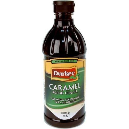 Durkee Caramel Food Color, 6 Bottles Per Case, 32 Ounces Per Bottle. by Durkee