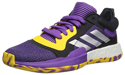 adidas Men's Marquee Boost, Active Legend Purple/Bold Gold, 10 M US