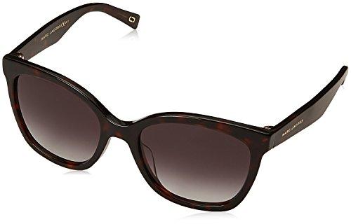 - Marc Jacobs Women's Marc309s Polarized Square Sunglasses, DKHAVANA, 54 mm
