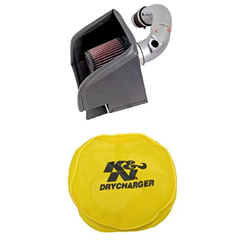 K&N 69-8613TS Performance Air Intake System with Yellow Air Filter Wrap