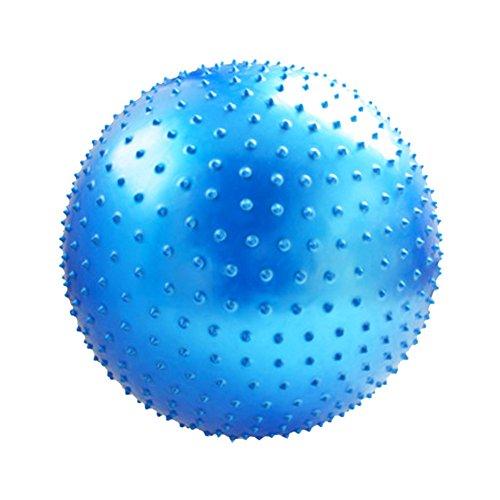 Épaississent yoga balle boule de massage Keep Fit For enfant et adulte-Bleu