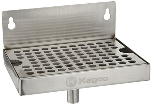 Kegco DP-64-D Wall Mount Drip Tray, 6
