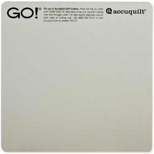 "Bulk Buy: AccuQuilt GO! Baby Cutting Mat 6""X6 (3-Pack)"