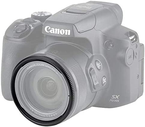SX10 is SX50 HS SX20 is SX40 HS SX520 HS Digital Camera Replaces Canon FA-DC67A Adapter Ring SX540 HS SX60 HS SX530 HS SX1 is 58mm Metal Lens Filter Adapter Ring for Canon SX70 HS SX30 is