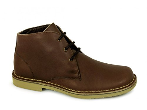 Roamer Classic waxy leather Desert boots.Brown. 4lPcFt