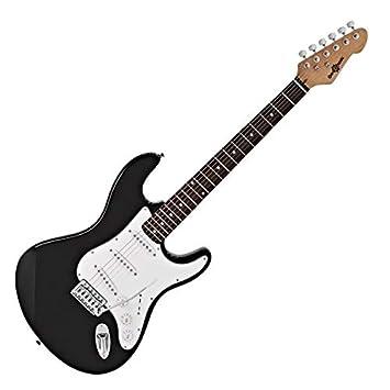 Guitarra Eléctrica LA de Gear4music Negro: Amazon.es: Instrumentos musicales
