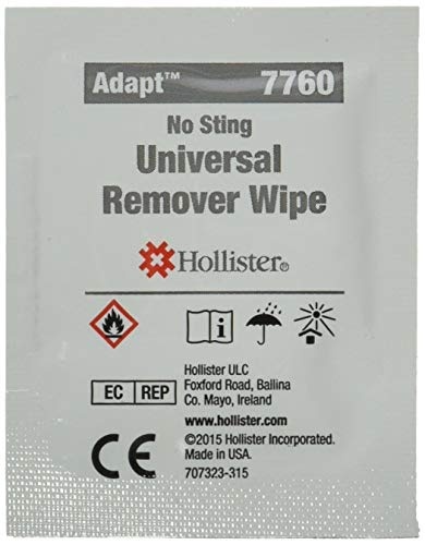 Universal Remover Wipes For Adhesives And Barriers Qty 50