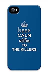 Keep Calm And Rock To The Killers Hard Skin For Case Iphone 6 4.7inch Cover
