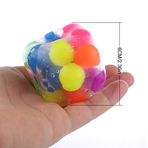 DNA Stress Relief Ball - 3 Pack- Squeezing Balls- Sensory Stress Balls For Kids & Adults- Ideal Sensory Toy for Autism, Anxiety, ADHD & More Photo #3