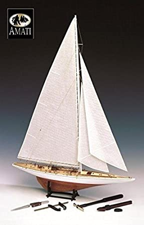 Amati 170011. Maqueta barco Rainbow 1934. Incluye ...