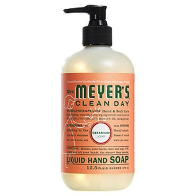 Mrs. Meyer'S Hand Soap Liq Geranium 12.5 Fz