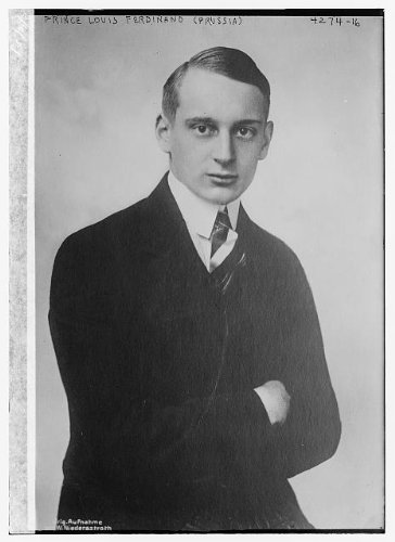 Photo: Prince Louis Ferdinand,Prussia,Hohenzollern family,business man,patron,arts