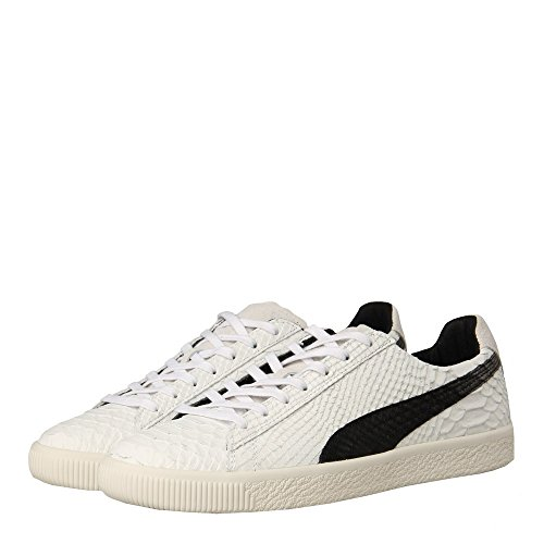 Puma Clyde Mii, Whisper White Black-Star White, 10 Whisper White-Puma Black-Star White