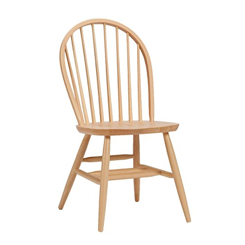 (Bolton Furniture Bow Back Chair Natural)