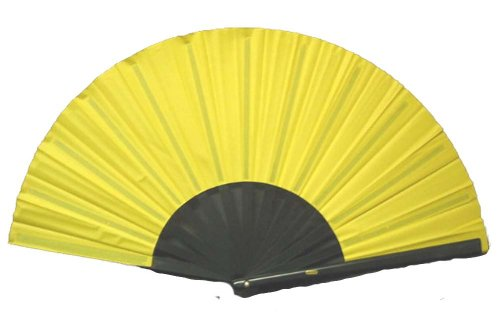 Yellow Performance Folding Fan #370 by House of Rice