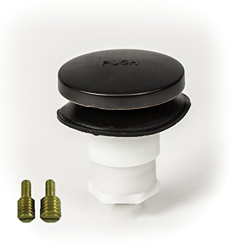 Orb Bath (PF WaterWorks Universal Toe Touch (Tip Toe or Foot Actuated) Bath Tub/Bathtub Drain Stopper includes 3/8