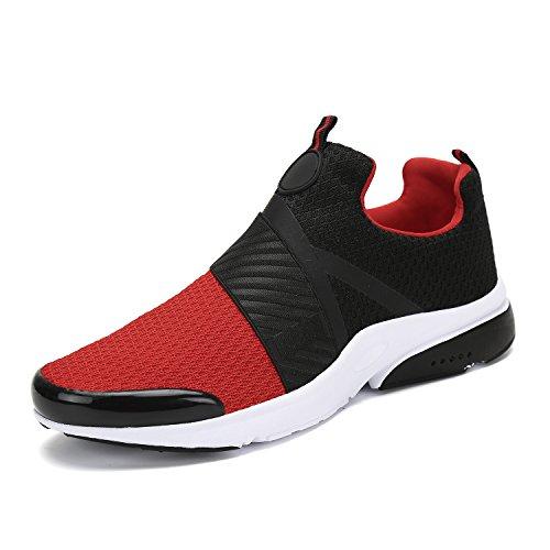 Mishansha Men Women Fashion Sneakers Breathable Mesh Comfortable Lightweight Walking Shoes Slip-On Running Soft