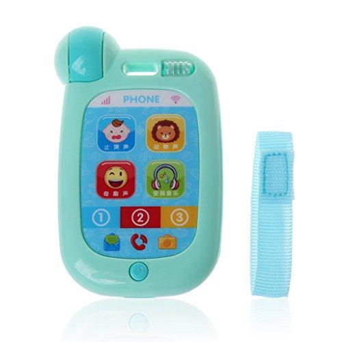 JAGENIE新しいおもちゃの電話教育音楽モバイルおもちゃ子供のための赤ちゃんToyChristmas新年ギフト、1 PC、ランダム配信