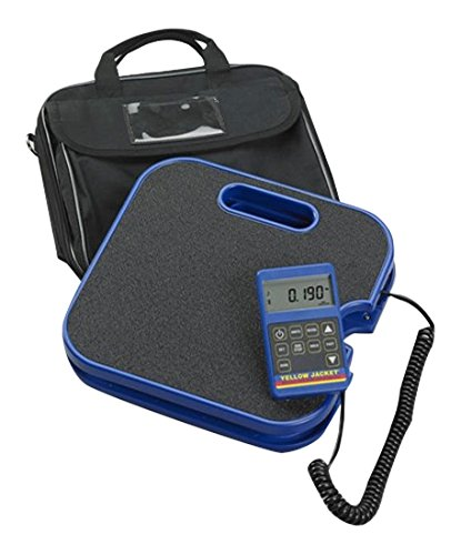 YELLOW JACKET 68860 Digital Electronic Charging Scale with Bag, 220 lb.