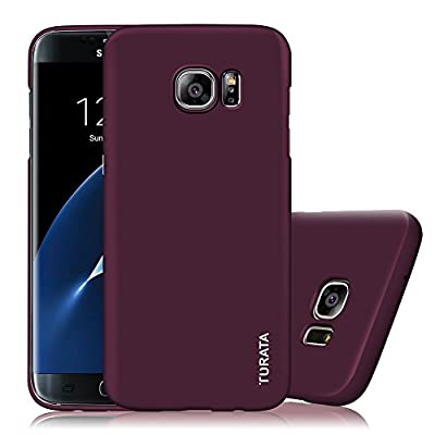 S7 Edge Case, Galaxy S7 Edge Case - TURATA Slim fit [Full Edge Protection Camera Protection] Premium Coated Non Slip Surface Four Layer Paint Designed Case for Samsung Galaxy S7 Edge