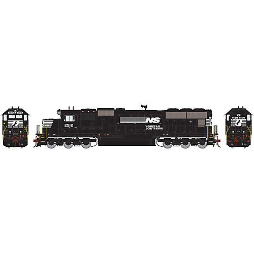 Athearn ATHG69336 HO SD70 w/DCC & Sound, NS #2512