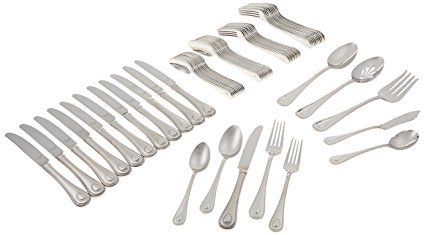 (Lenox Portola 65-Piece Flatware Set (French))