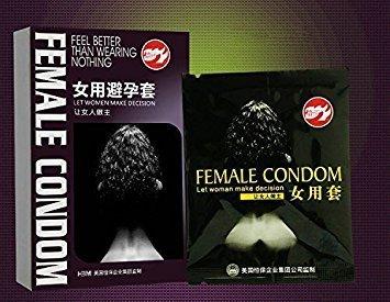 コンドーム 女性用 1箱2コ入×3パック