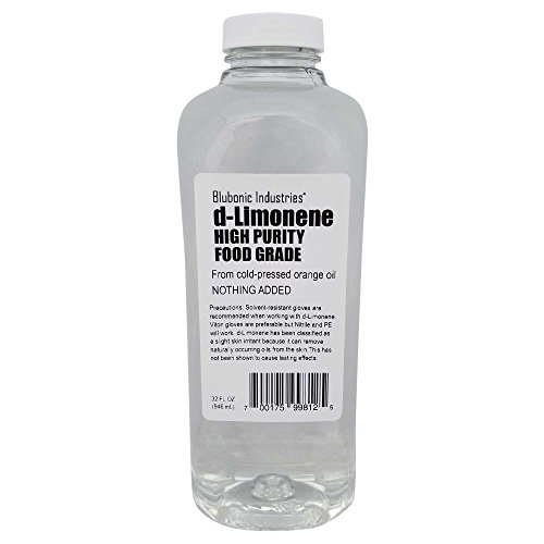 100% Orange Oil d-Limonene HIGH Purity Food Grade, Solvent, Medicinal, Cleaner, Degreaser, Limonene (32 fl oz)