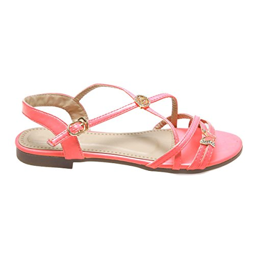 Zapatos fucsia La Modeuse para mujer ATsZ8gomT