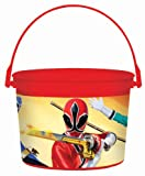 Power Rangers Samurai Favor Bucket (Red) Party Accessory
