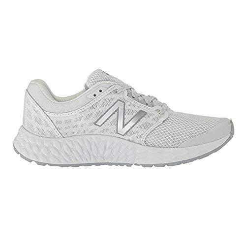 New Balance Women's 1165v1 Fresh Foam Walking Shoe, Grey/White, 8.5 D - Apparel Ribbon Pink
