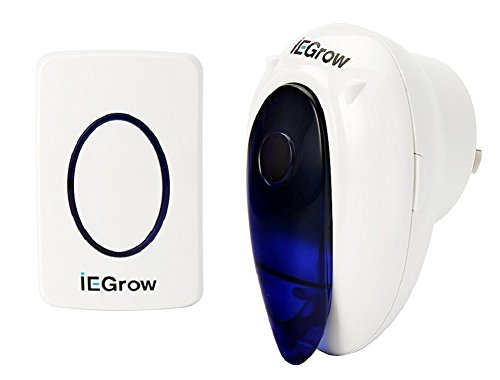 iEGrow IEDB701 Wireless Doorbell Operating at o...