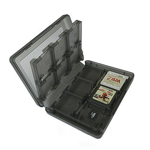 ocamo 24en 1tarjeta de juego titular caso cartucho caja de almacenamiento para Nintendo 3DS