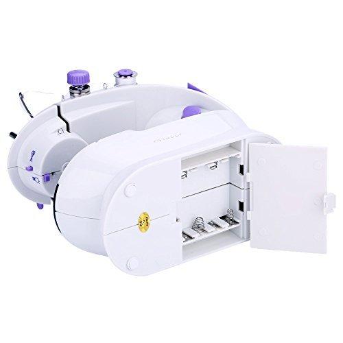 ANSELF SM202 - Máquina de Coser Eléctrica + Mesa de Ampliación (Con Luz para Iluminar Aguja): Amazon.es: Hogar