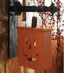 K&K Interiors Hanging Jack O Lantern Decorative Halloween Plaque for Arrow Hanger