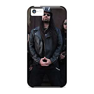 Durable Cell-phone Hard Cover For Iphone 5c (BIN18906ZnbQ) Unique Design Colorful Death Band Image