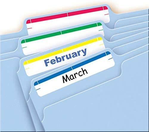 Avery Print or Write File Folder Labels for Laser and Inkjet Printers 1//3 Cut 5//8 x 3 1//2 Yellow 5209 Pack of 252