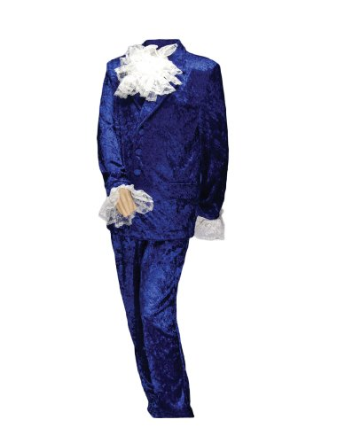 Men's Deluxe Austin Powers, Blue,