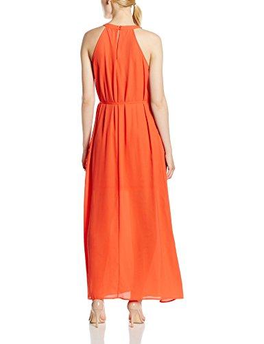 Only Onltoledo S/L Maxi Dress Wvn, Vestido para Mujer Orange (Paprika)