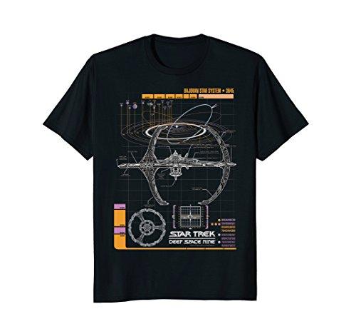 Star Trek DS9 Bajoran System Schematic Graphic -