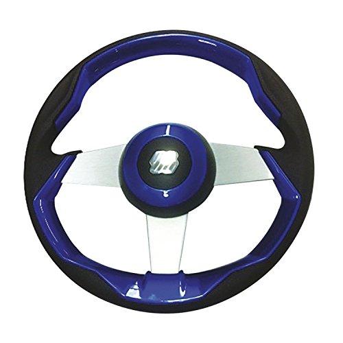 marine steering wheel blue - 7