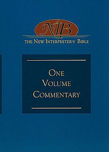 Read Online The New Interpreter's Bible One-Volume Commentary pdf epub