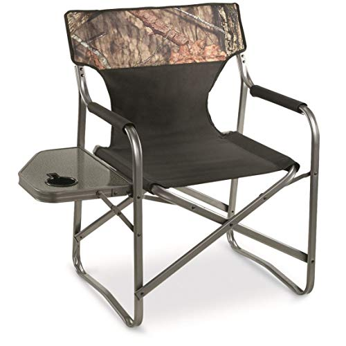 Guide Gear Oversized Director s Chair, 500-lb. Capacity, Mossy Oak Break-Up Country